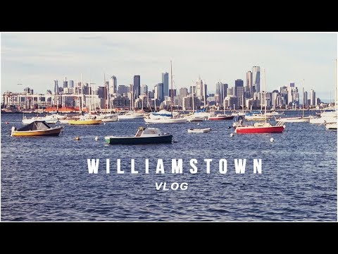Best views of Melbourne and Williamstown beach - VLOG