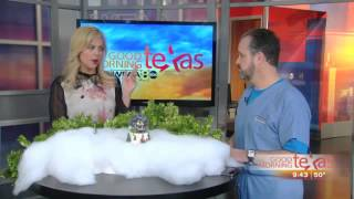 Eye floaters, flashes and spots - Dr. Whitman on Good Morning Texas