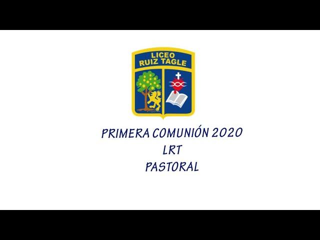 MOMENTOS PRIMERA COMUNIÓN 2020
