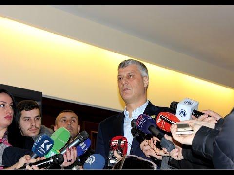 Presidenti Thaçi në konferencë (Drejtpërdrejt)