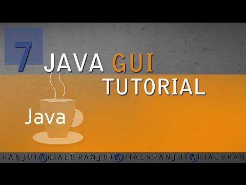 Java GUI Tutorial 7 -- JButton