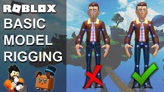 Esercitazione su Roblox Basic Model Rigging - Roblox Studio
