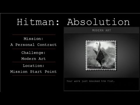 Hitman: Absolution Challenge Guide - Modern Art / Play It Again  - Mission 1