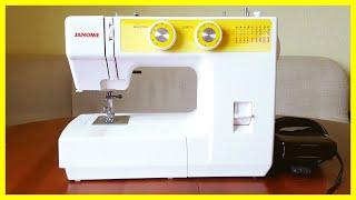 Швейная машинка Janome - моя идеальная помощница! Обзор!