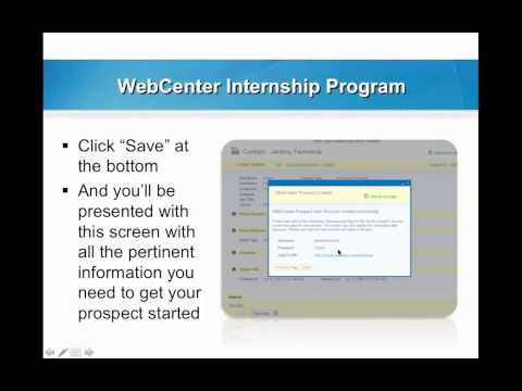 WebCenter Weekly Webinar - Internship 06.24.14