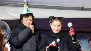 ♥️버드리♥️ 11월18일 엄마생신을 축하하는 작은콘서트 유구자카드섬유페스티벌축제 2017년