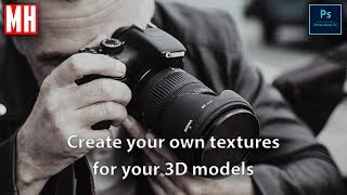 How to create textures for your 3D model using a Camera