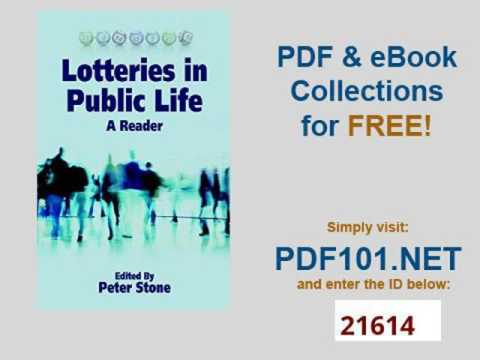 Lotteries in Public Life A Reader Sortition and Public Policy