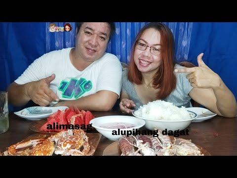 Download Alupihang dagat and Alimasag Seafood Mukbang|PG FAMILY MUKBANG