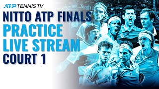 2020 Nitto ATP Finals: Live Stream Practice Court 1 (Friday)