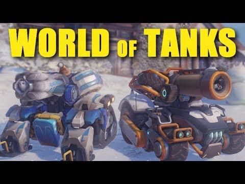 Overwatch - Blizzard's World of Tanks