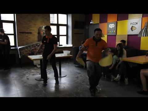 Пицца-акробатика для всех в Додо Калуга - ч.1