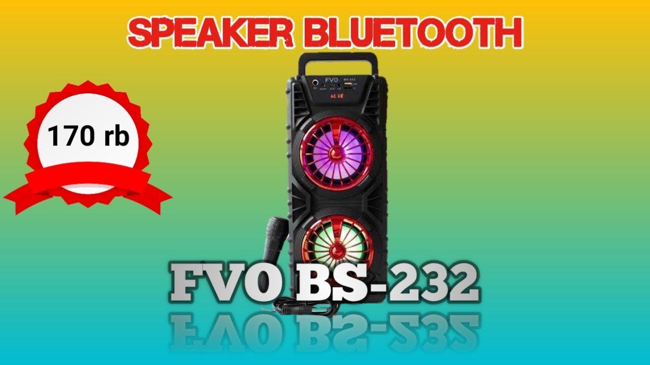 Download Speaker bluetooth FVO BS-232| SUPER BIG | RealGadgetin