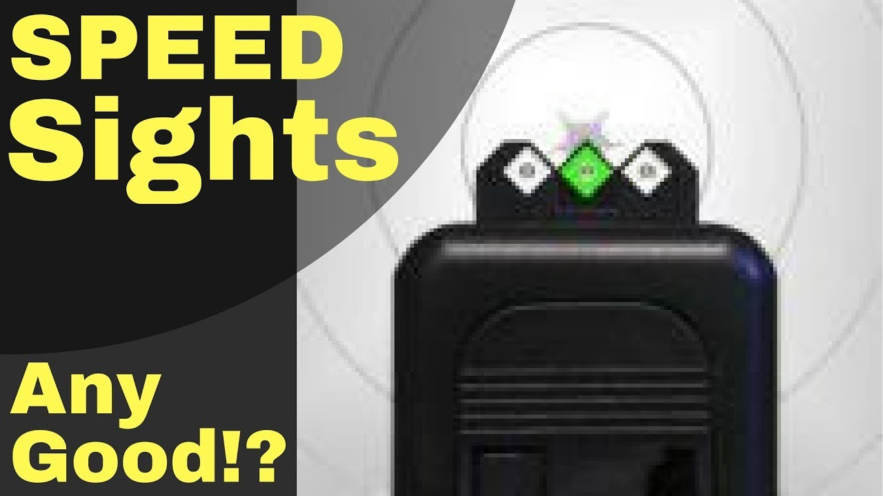 Diamond Accurate Pistol Aim? SPEED SIGHTS Super Fast and Precise! on Glock  42
