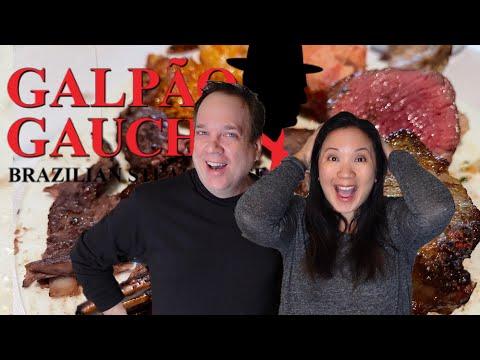 All You Can Eat MEAT FEAST! Galpao Gaucho Brazilian Steakhouse Las Vegas