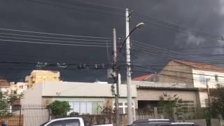Chuva forte e volumosa no RJ em 11/01/2017