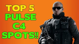 Top 5 Pulse Nitro Cell Spots in Ranked || Rainbow Six Siege Tips