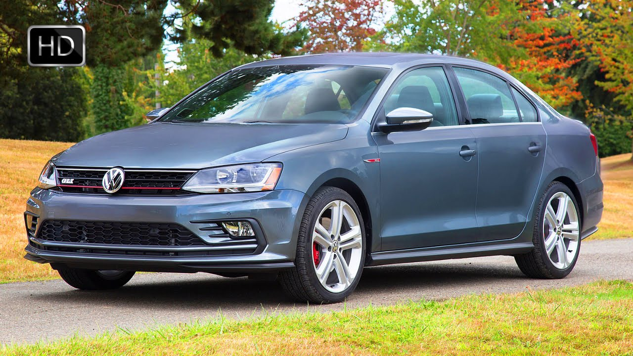 2017 Volkswagen Jetta Gli Us Version Exterior Interior Design Road Drive Hd