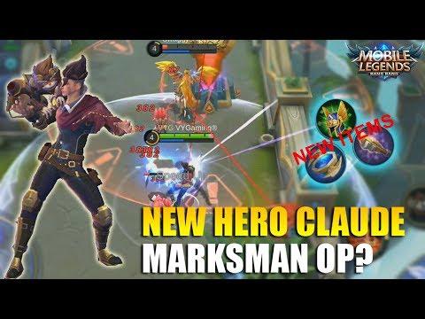 NEW HERO CLAUDE PARTNERS IN CRIME - MARKSMAN BARU YANG SUPER OP? SKILLNYA KEREN BANGET!