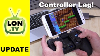 Exploring Game Controller Lag / Latency on Android, PC, and Retro Consoles