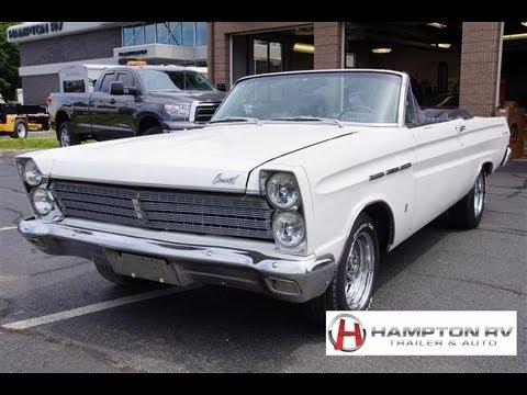 Gateway Auto Sales >> 1965 Mercury Comet Caliente 289 V8 Convertible - YouTube