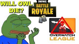 Fortnite Is KILLING OWL? Will Overwatch League DIE?