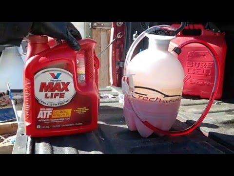 2014 Ram 1500 ZF 8 Speed transmission fluid exchange - YouTube
