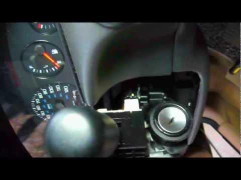 chrysler sebring  starter  removal  test  bypass switch