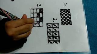 henna clases for beginners tutorial#6/how to draw checks designs/learn bracelets design step by step