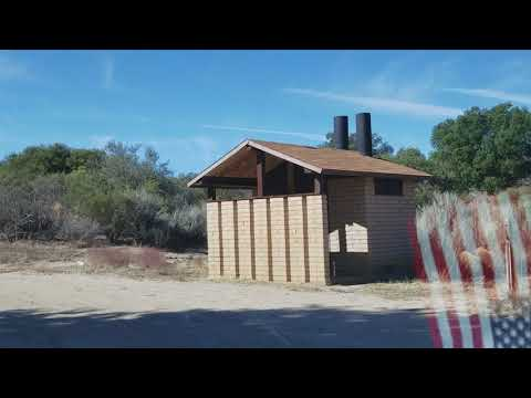 Rustic little campsites in the Cleveland National Forest!