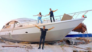 BUYING AN ABANDONED YACHT IN DUBAI !!!