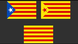 If Catalonia Leaves Spain, What Will Be Its Flag?