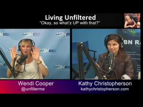 WHAT'Z UP WITH THAT?  Kathy Christopherson is Wendi Cooper's Guest on