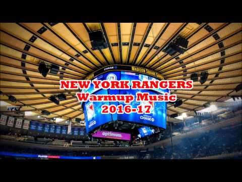 New York Rangers 2016-17 Warmup Music