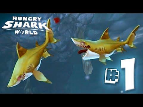 MOAR SHARK!! - Hungry Shark World | Ep1 HD