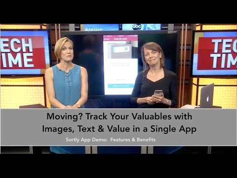Sortly App Feature Demo   Track your valuables for moving and personal inventory by Francie Black