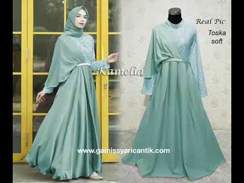 Model Baju Renda Abaya 13