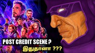 Avengers END GAME Post Credit Scene Galactus ??? In Tamil