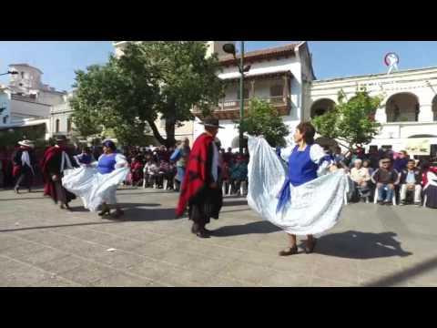 Los abuelos festejaron su día bailando en la plaza 9 de Julio
