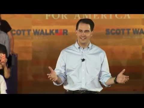 Full Scott Walker Presidential announcement ceremony