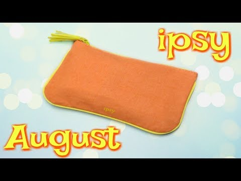 Ipsy Glam Bag Unboxing - August 2018!