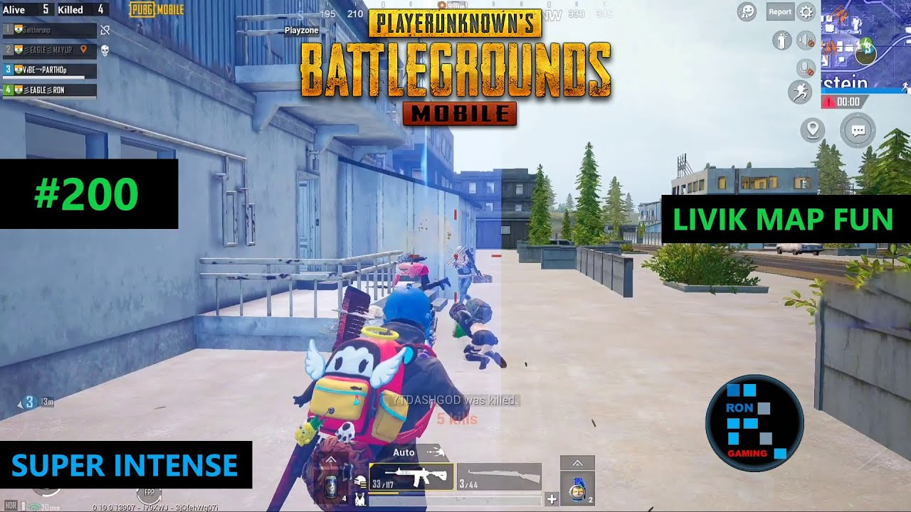 PUBG MOBILE | FULL FUN GAMEPLAY IN LIVIK MAP WITH INTENSE MATCH CHICKEN DINNER