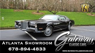 1972 Lincoln Mark IV - Gateway Classic Cars of Atlanta #1043
