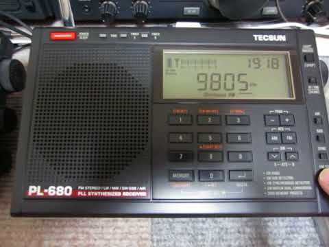 PL-660 Vs PL-680 With KBS World Radio On 9805kHz_05192018