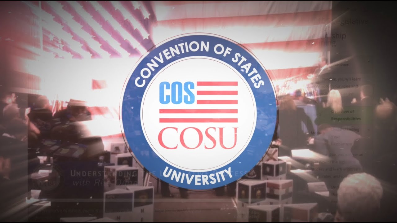 Convention of States University is here!
