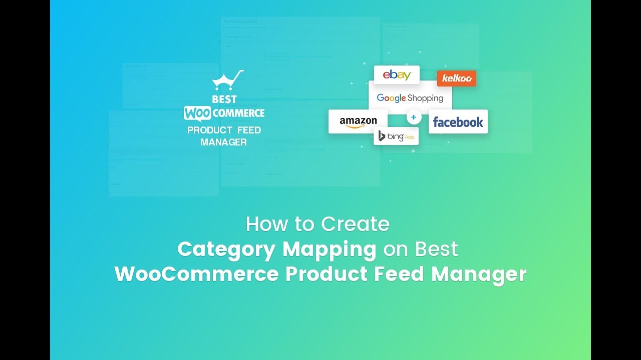 Create Category Mapping on Best WooCommerce Product Feed Manager