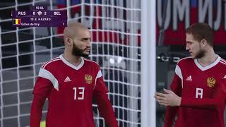 RUSIA vs BELGICA   Premonicion del partido a disputarse el 17 11 2019