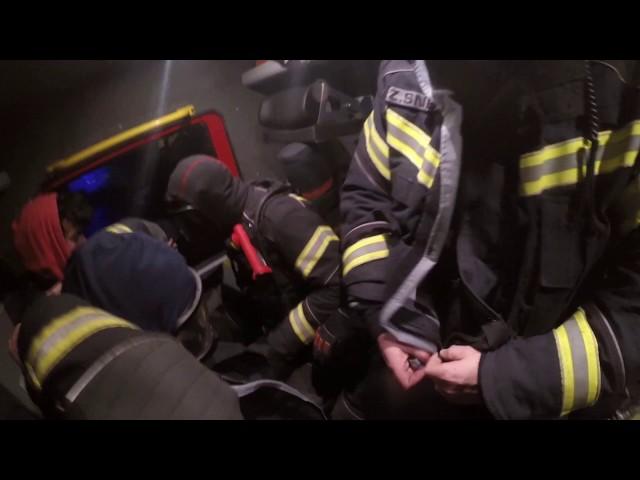 Požar stanovanjskega objekta Cerklje, 17. 4. 2018, PGD Cerklje