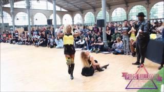 Tatiana Zorra (win) vs Bianka Khan @ baby vogue battle вог баттл