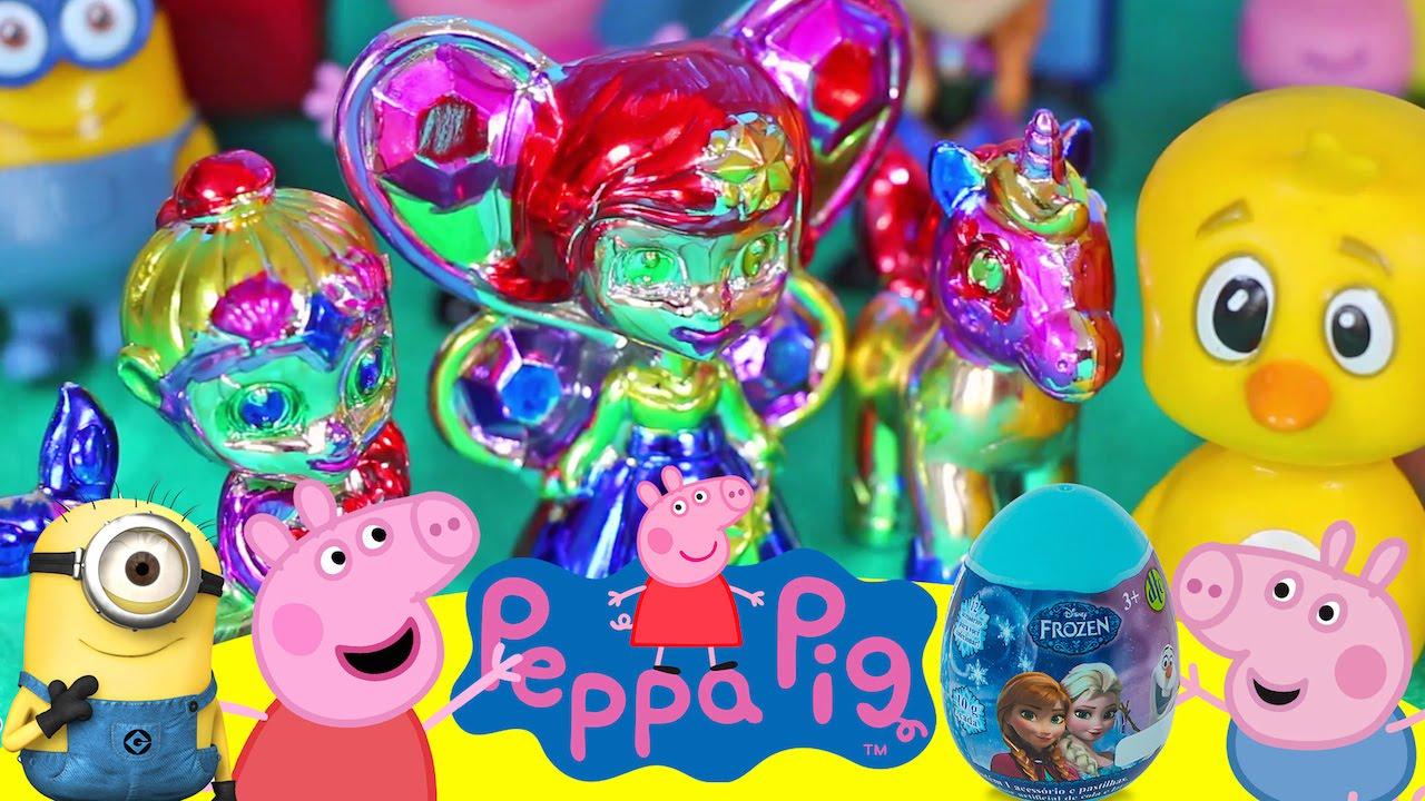 Peppa Pig Elsa Anna Frozen Princesas Colorcrome Fantasy Falls